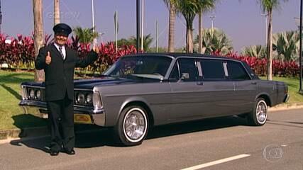 'Lata Velha' reforma limousine de Fernandes