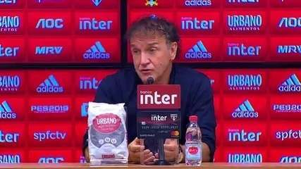 Veja a entrevista coletiva de Cuca após derrota do São Paulo para o Bahia