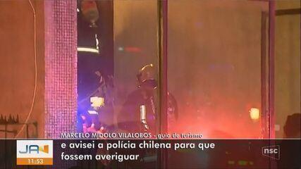 Guia turístico fala sobre conversa que teve com família brasileira antes da tragédia