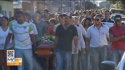 Ex-namorada do atirador de Paracatu é enterrada em Uberlândia