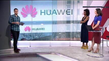 Guerra comercial afeta gigante dos celulares Huawei