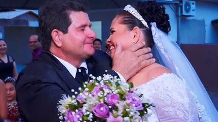 Elza ganha festa de casamento após Gabriel e Ana Gabriela tentarem ajudá-la no 'The Wall'