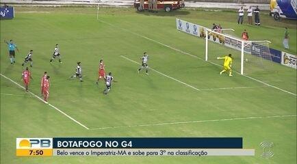 Veja os gols da vitória do Botafogo-PB diante o Imperatriz