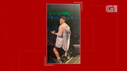 Gabriel Diniz faz apresentação em Feira de Santana no domingo (27)