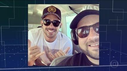 Cantor Gabriel Diniz morre aos 28 anos, em acidente aéreo em Sergipe
