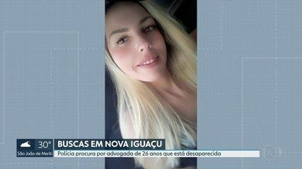 Encontradas roupas de advogada que desapareceu em Nova Iguaçu