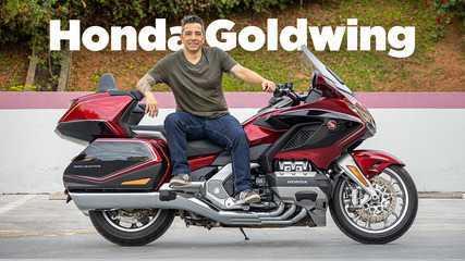 Honda Goldwing: a moto com airbag, tela multimídia e preço de carro de luxo