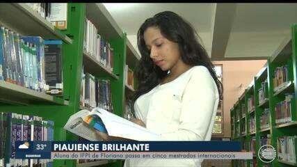 Piauiense é aprovada para 5 mestrados internacionais e precisa de ajuda