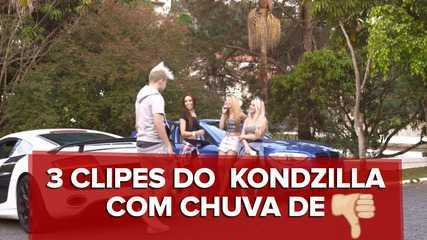 3 clipes #fail de Kondzilla