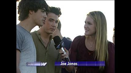 Reveja a participação dos Jonas Brothers no Vídeo Show