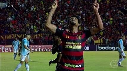Em grande fase no Sport, Hernane Brocador fala de artilharia e meta por gols na temporada