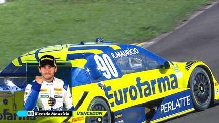 Ricardo Maurício vence a segunda corrida da etapa de Londrina da Stock Car