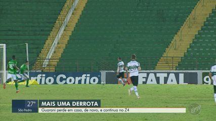 Gol de goleiro sacramenta derrota do Guarani para o Coritiba em jogo polêmico