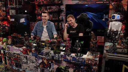 Gameplay estendido de 'GTA V' com Tiago Leifert e Lipãogamer no 'Zero1'