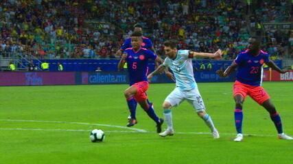 Melhores momentos de Argentina 0 x 2 Colômbia pela Copa América 2019