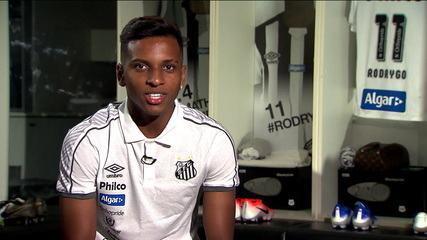 Rodrygo fala sobre a expectativa de chegar ao Real Madrid