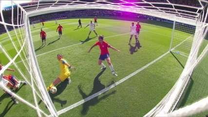Melhores momentos: Estados Unidos 3 x 0 Chile pela 2ª rodada da Copa do Mundo de Futebol Feminino