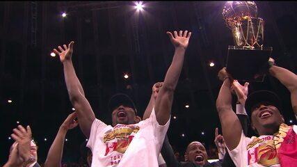 Confira o Top 5 das finais da NBA