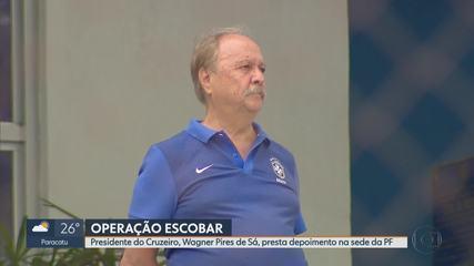 Presidente do Cruzeiro é considerado suspeito na Operação Escobar da Polícia Federal