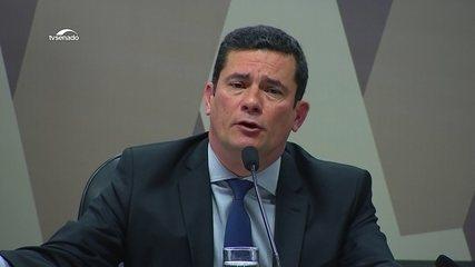 'O que existe é uma invasão criminosa por um grupo criminoso organizado', diz Sérgio Moro