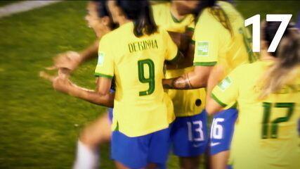Confira os 17 gols marcados por Marta em Copas do Mundo