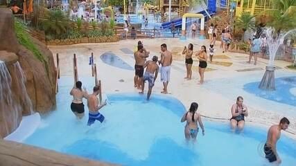 Parques aquáticos de Olímpia estão entre os mais visitados da América Latina