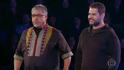Ubiratan e Carlos participam do 'The Wall'