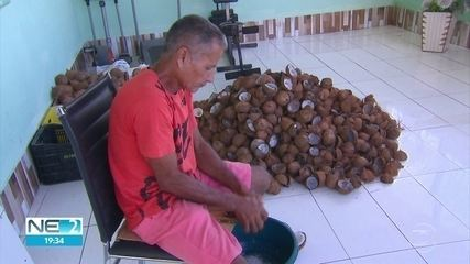 Homem vende cocadas para fazer perucas para pacientes do Hospital de Câncer de Pernambuco
