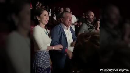 Mauricio de Sousa se emociona após assistir ao primeiro live-action da Turma da Mônica