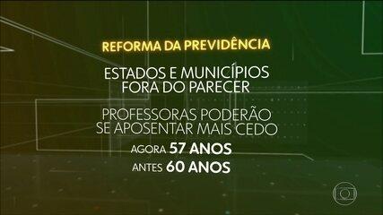 Relator da reforma da Previdência deixa estados e municípios fora de novo texto