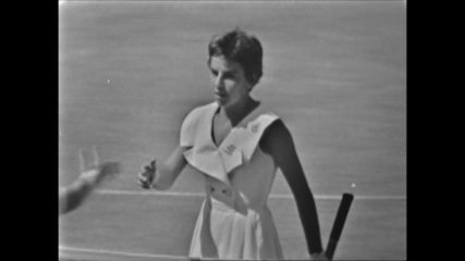Primeiro titulo de Maria Esther Bueno em Wimbledon completa 60 anos