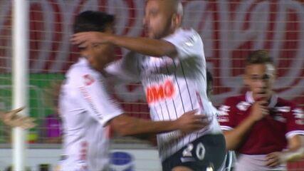Veja os melhores momentos do jogo entre Vila Nova e Corinthians