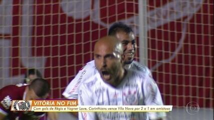Último gol de Régis, marcado pelo Corinthians, ano passado, foi dentro da área