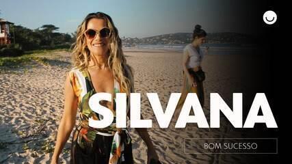 Em bastidores de gravação, Ingrid Guimarães apresenta Silvana