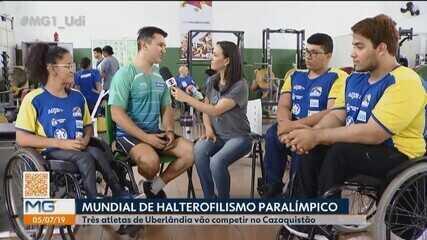 Halterofilistas de Uberlândia embarcaram para representar o Brasil em Mundial Paralímpico