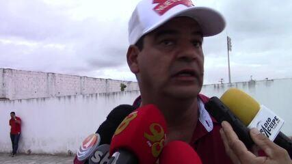 Moacir Júnior lamenta eliminação do América-RN na Série D
