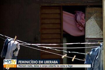 Jovem é morta dentro de casa em Uberaba; suspeito do crime é o companheiro