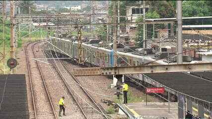 Quase 40 mil pessoas deixaram de usar trens no Rio este ano por causa de tiroteios