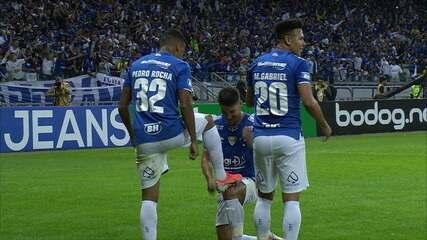 Os gols de Cruzeiro 3 x 0 Atlético-MG pelas quartas de final da Copa do Brasil