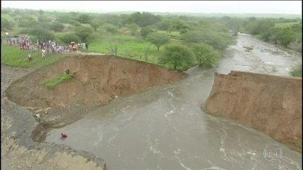 Governo da Bahia confirma que três barragens se romperam no Nordeste