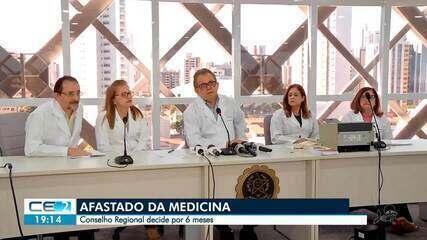 Médico de Uruburetama é afastado da medicina por 6 meses
