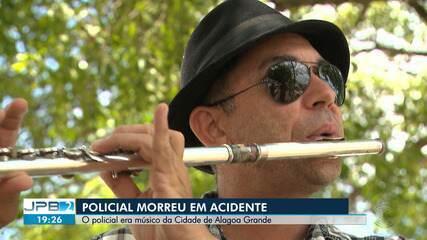 Policial morre durante acidente de trânsito entre Alagoa Grande e Juarez Távora