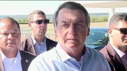 Bolsonaro volta a afirmar que 'no Brasil se come mal'