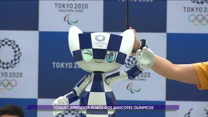 Tóquio apresenta robôs dos mascotes olímpicos para 2020