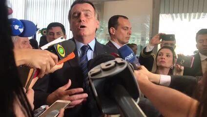 Bolsonaro diz que divulgação de dados ambientais 'dificulta' negociações comerciais