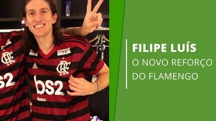 Veja números de Filipe Luís, nova contratação do Flamengo