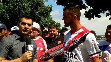 Edson Cariús fala de sua relação com a Barra do Ceará