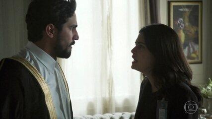 Jamil se encontra com Laila