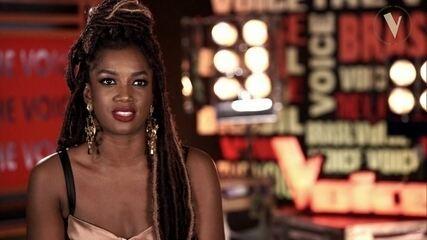 Iza revela: 'Comecei a cantar por causa do The Voice'