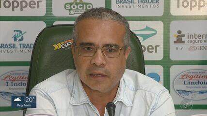 Palmeron faz declarações pesadas contra o elenco do Guarani